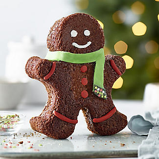 Gingerbread Man Silicone Cake Mould alt image 2