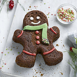 Gingerbread Man Silicone Cake Mould alt image 3