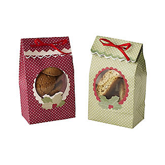 Holly Treat Bags – Pack of 6 alt image 2
