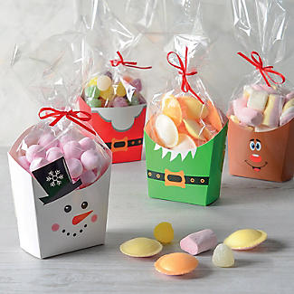 Christmas Treat Boxes with Presentation Bags – Pack of 4 alt image 2