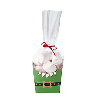 Christmas Treat Boxes with Presentation Bags – Pack of 4 alt image 6
