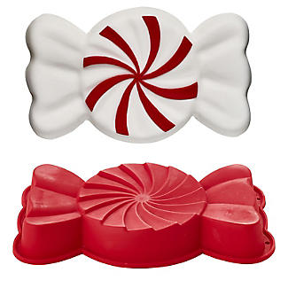Large Candy-Shaped Silicone Cake Mould
