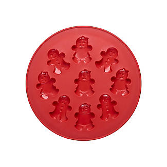 9 Mini Gingerbread People Silicone Mould  alt image 3