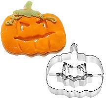 Pumpkin Face Halloween Cookie Cutter