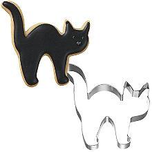 Cat Halloween Cookie Cutter