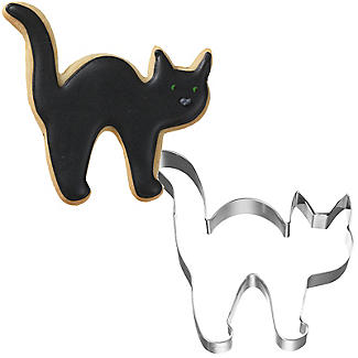 Cat Halloween Cookie Cutter