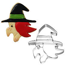 Witch Face Halloween Cookie Cutter