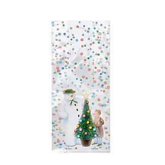 20 The Snowman Festive Party Presentation Gift Bags 12.5 x 29cm alt image 2