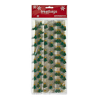 20 Traditional Christmas Trees Presentation Gift Bags 12.5 x 29cm alt image 3