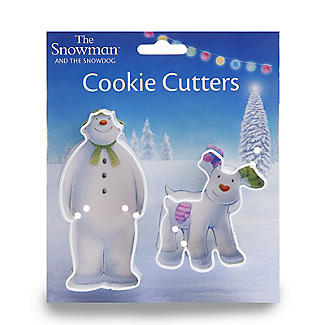 Snowman and Snowdog 2-Piece Cookie Cutter Set alt image 5
