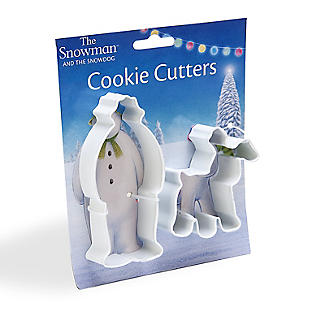 Snowman and Snowdog 2-Piece Cookie Cutter Set alt image 6