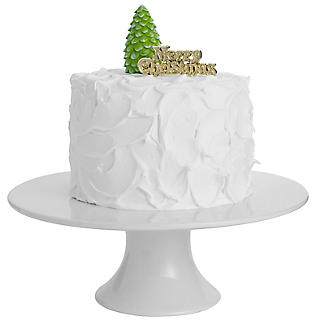 Christmas Tree and Merry Christmas Resin Cake Toppers alt image 2