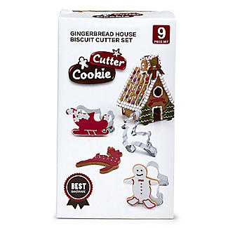 9pc Christmas Gingerbread House Cutter Gift Set alt image 5