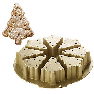 Christmas Tree 8 Hole Silicone Cake & Jelly Mould