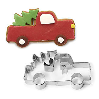 Christmas Truck Cookie Cutter Stainless Steel