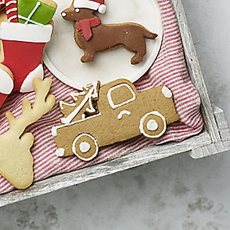 Christmas Truck Cookie Cutter Stainless Steel alt image 3