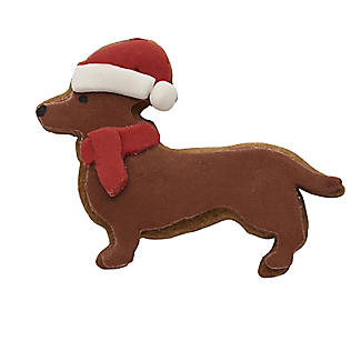 Dachshund Christmas Cookie Cutter Stainless Steel alt image 2