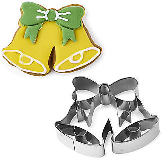 Traditional Bells Christmas Cookie Cutter Stainless Steel