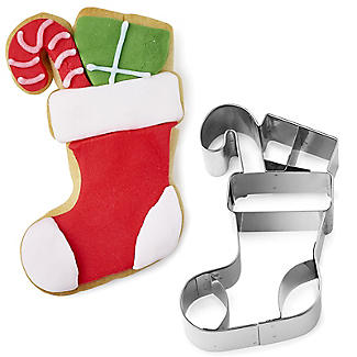 Christmas Stocking Cookie Cutter Stainless Steel