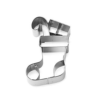 Christmas Stocking Cookie Cutter Stainless Steel alt image 3