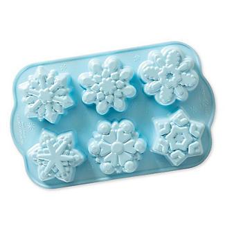 Nordic Ware Frozen Snowflake Cakelet Pan alt image 3
