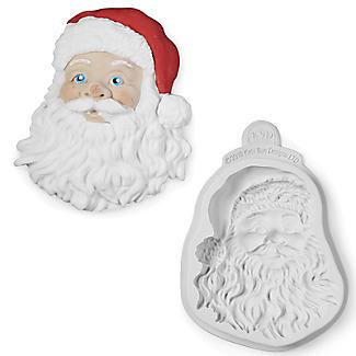 Katy Sue Designs Santa Head Flexible Silicone Mould