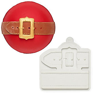 Katy Sue Designs Santa Belt Flexible Silicone Mould