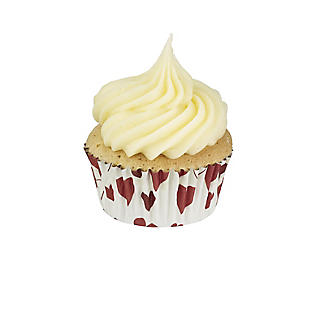 30 PME Heart Foil Lined Cupcake Cases