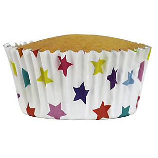 30 PME Star Foil Lined Cupcake Cases