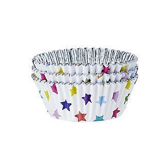 30 PME Star Foil Lined Cupcake Cases alt image 2