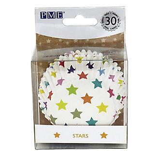 30 PME Star Foil Lined Cupcake Cases alt image 3