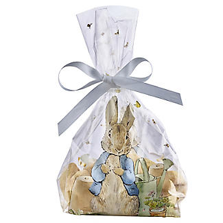 20 Peter Rabbit Cellophane Presentation Bags with Twist Ties