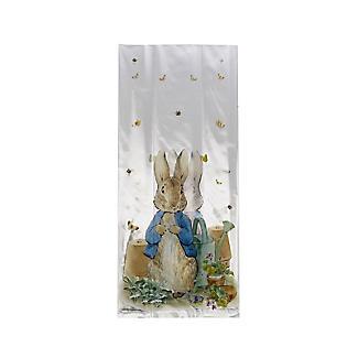 20 Peter Rabbit Cellophane Presentation Bags with Twist Ties alt image 2