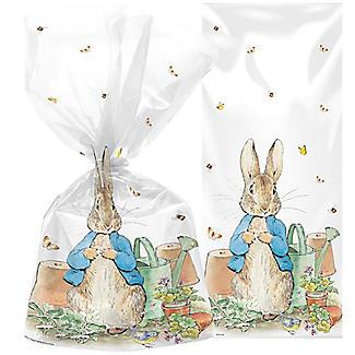 20 Peter Rabbit Cellophane Presentation Bags with Twist Ties alt image 3
