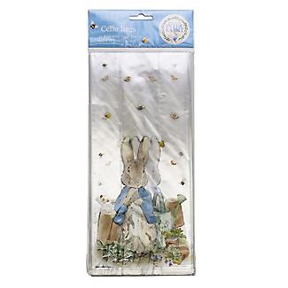 20 Peter Rabbit Cellophane Presentation Bags with Twist Ties alt image 4