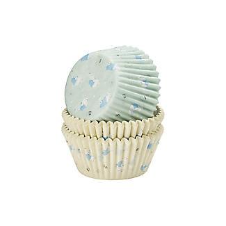 75 Peter Rabbit Baking Paper Cupcake Cases