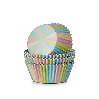 30 PME Unicorn Colours Foil Lined Cupcake Cases