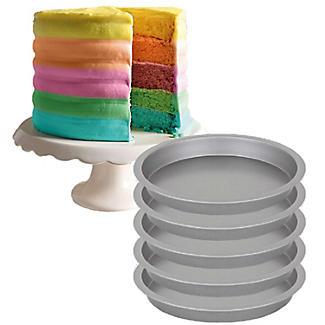Lakeland Layer Cake 5pc Pan Set – 18cm Dia