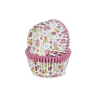 40 Summer Flower Cupcake Cases