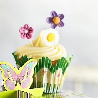 60 Floral Tulip Cupcake Cases alt image 2