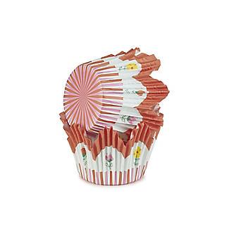 60 Floral Tulip Cupcake Cases alt image 3