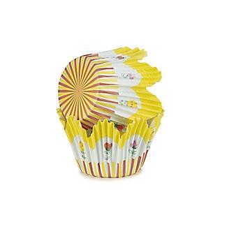 60 Floral Tulip Cupcake Cases alt image 5