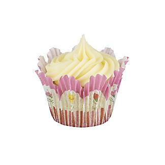 60 Floral Tulip Cupcake Cases alt image 6