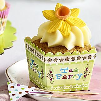 Lakeland 20 Tea Party Square Cake Cups alt image 2