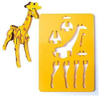 Bake-and-Build 3D Giraffe Cookie Cutter