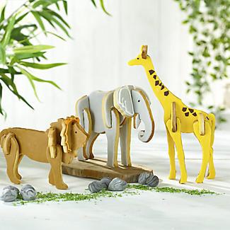 Bake-and-Build 3D Giraffe Cookie Cutter alt image 2