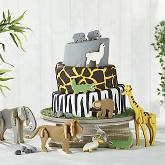 Bake-and-Build 3D Giraffe Cookie Cutter alt image 5