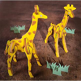 Bake-and-Build 3D Giraffe Cookie Cutter alt image 6