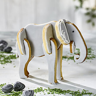 Bake-and-Build 3D Elephant Cookie Cutter alt image 2
