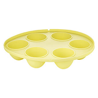 6 Hole Silicone Easter Egg-Shaped Cake Pop Mould  alt image 3